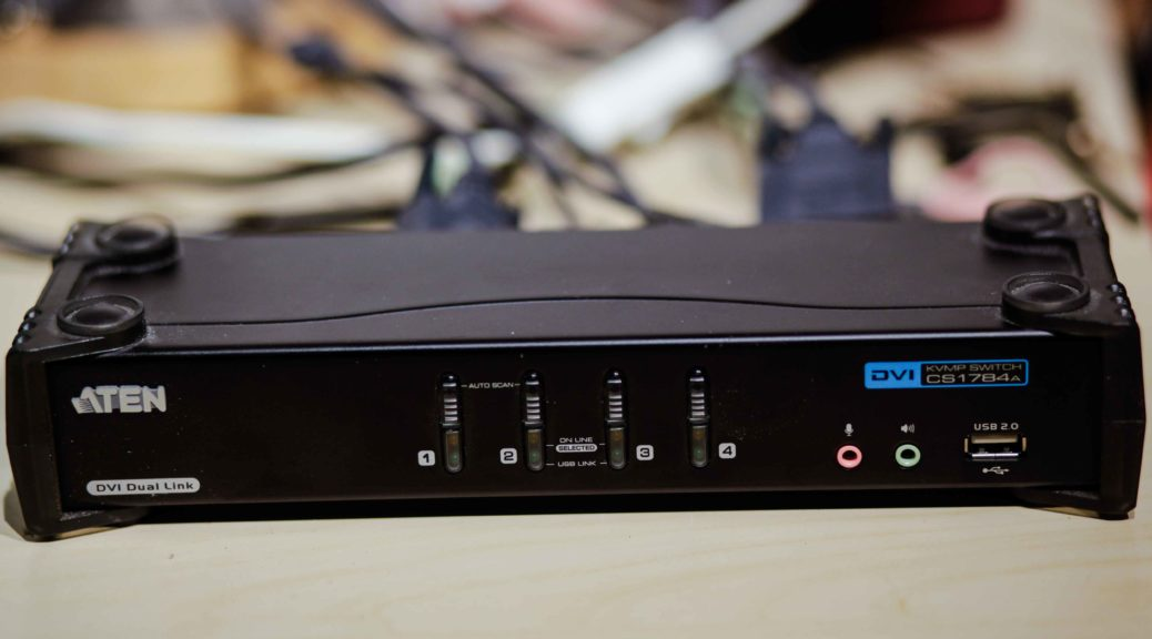 Aten CS1782 KVM Switch Review - YouTube