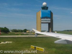 Bild 01: Budapest Flughafen