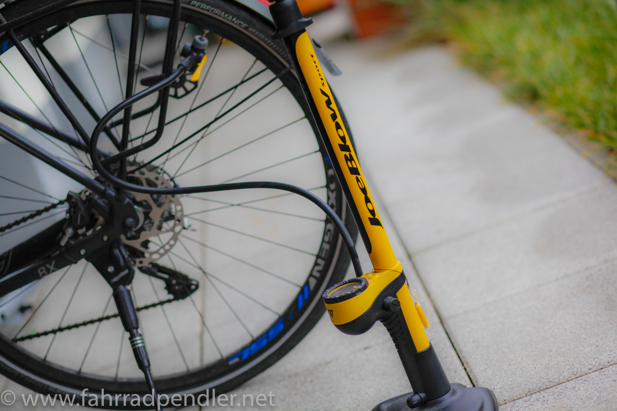 Review: Topeak JoeBlow Sport