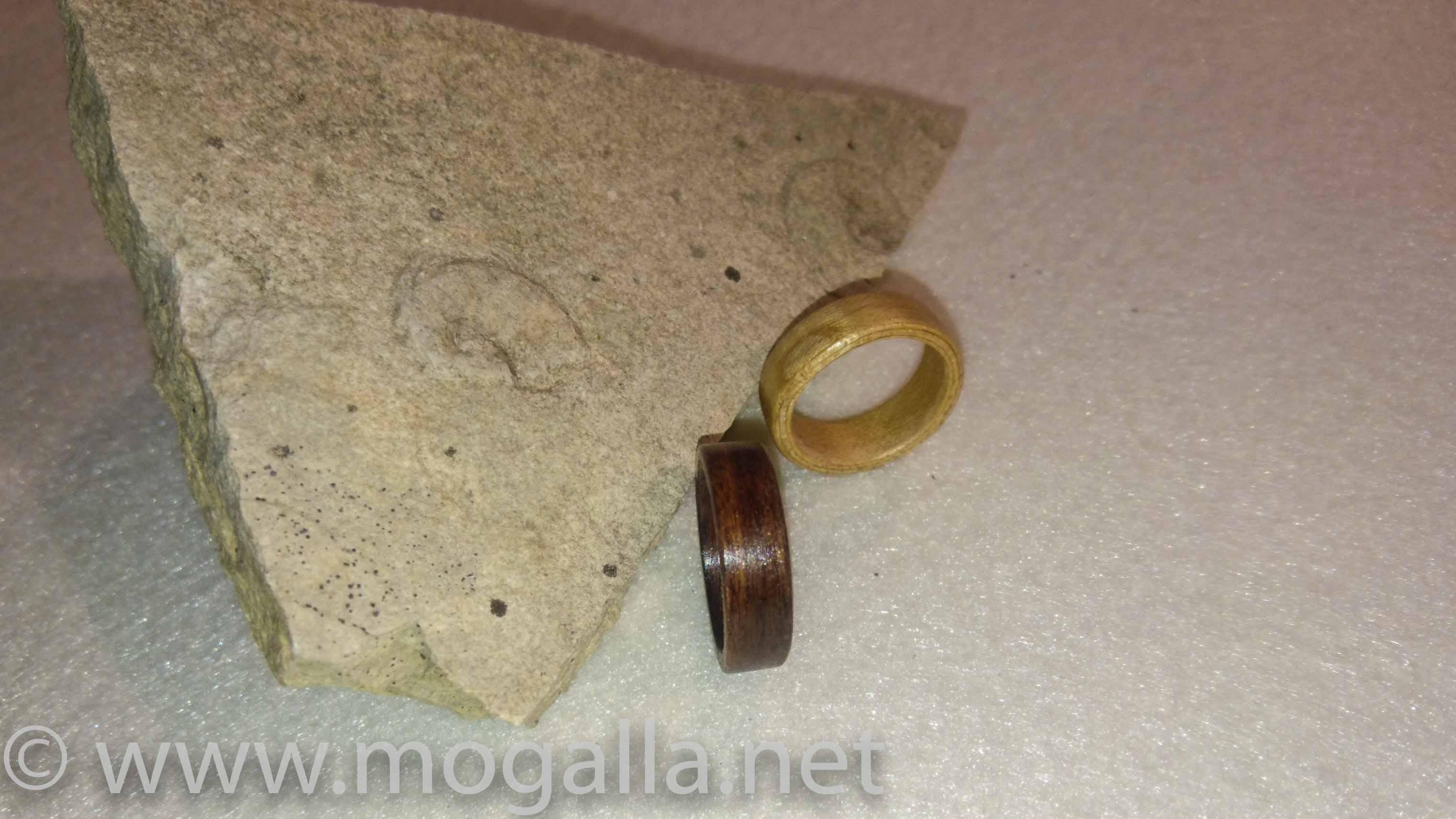 Ich koche mir einen Verlobungsring … Holzringe aus Furnier selber hergestellt